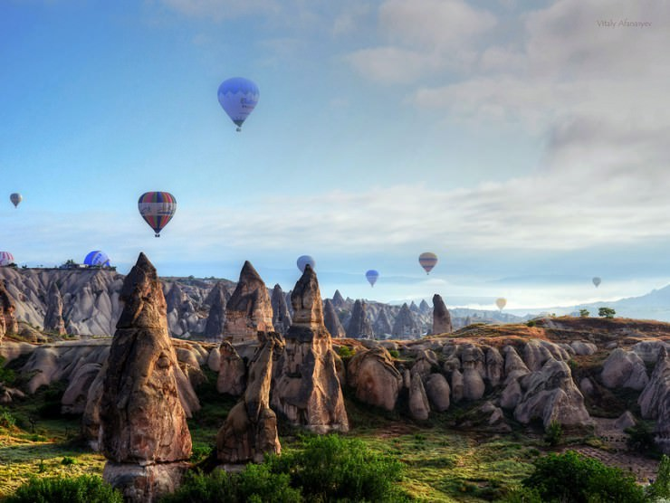 Cappadocia-Photo by Vitaly Afanasyev