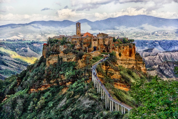 Civita-Photo by Tyler Durdan