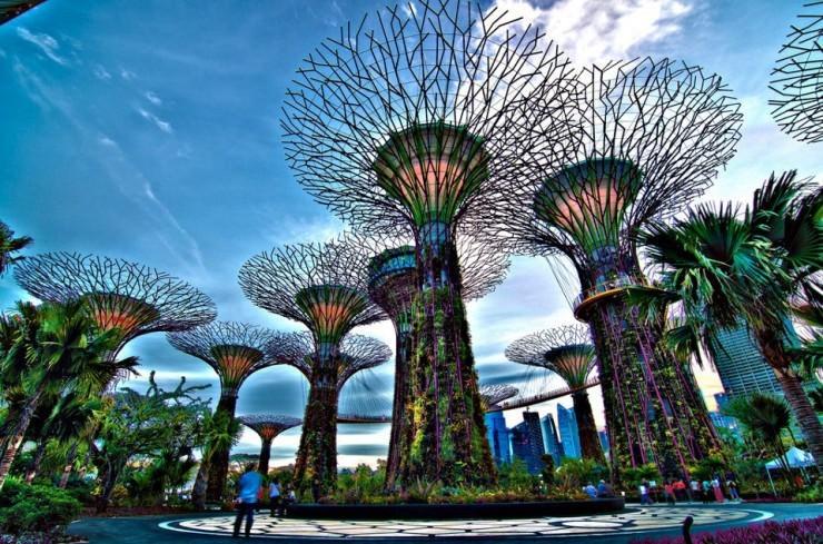 باغ خلیج، سنگاپور