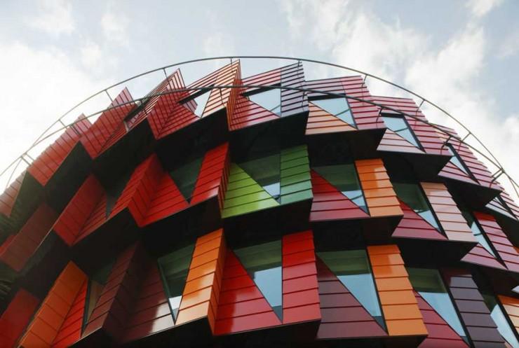 ساختمان Kuggen ، گوتنبورگ، سوئد