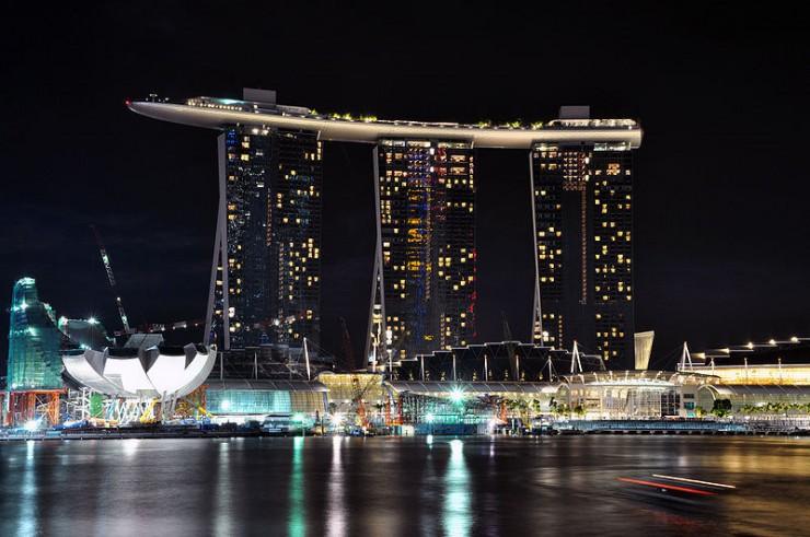 هتل مارینا - جاذبه های معروف جهان در سنگاپور