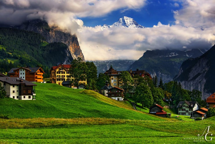 Wengen-Photo by Aleksandar Gospić