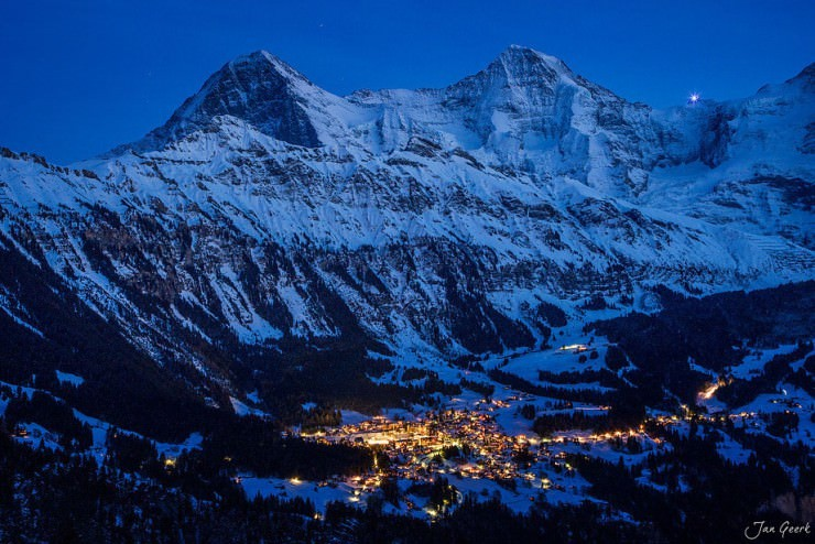 Wengen-Photo by Jan Geerk
