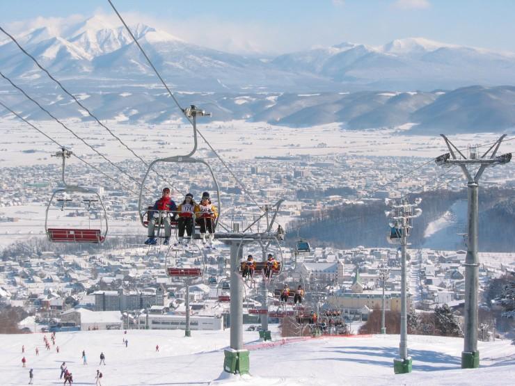 Trượt tuyết ở Furano
