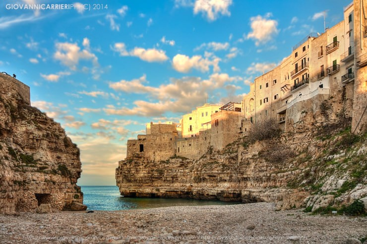 Polignano-Photo by Giovanni Carrieri
