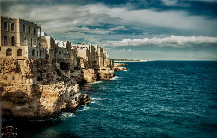 Polignano-Photo by Vito Muolo