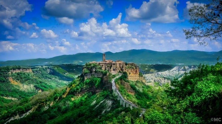 Civita-Photo by Marco Chiesi