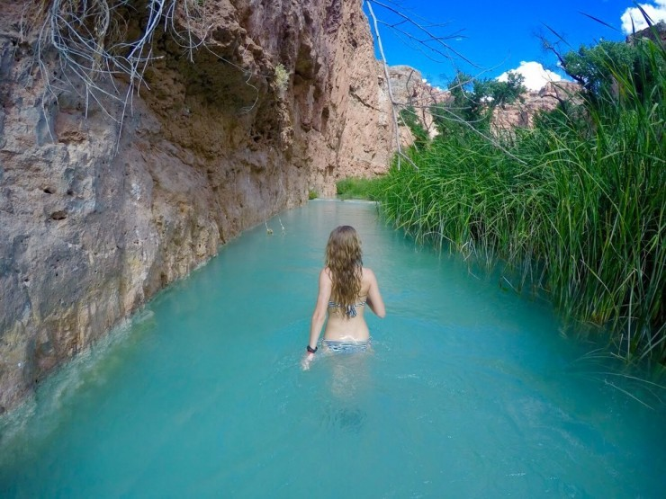 Top 10 pristine creeks and natural pools places to see for Natural pools arizona