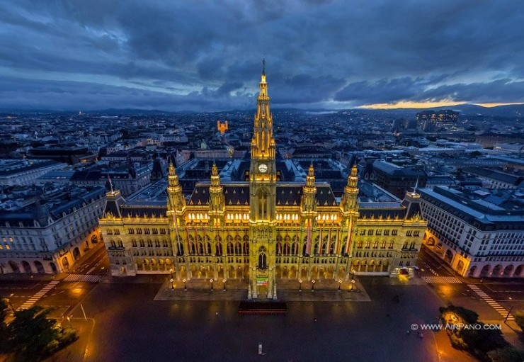 Vienna-Photo by Air Pano