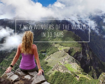 After Being Diagnosed With Cancer, This Woman Traveled To The 7 Wonders Of The World in 13 Days