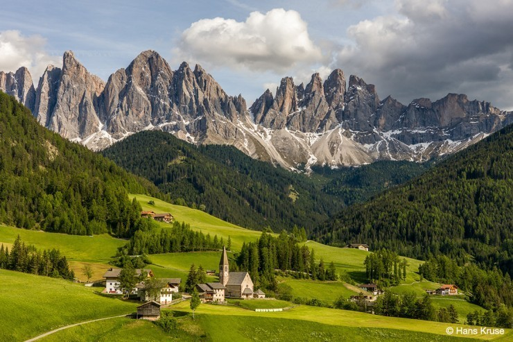 Dolomites-Photo by Hans Kruse