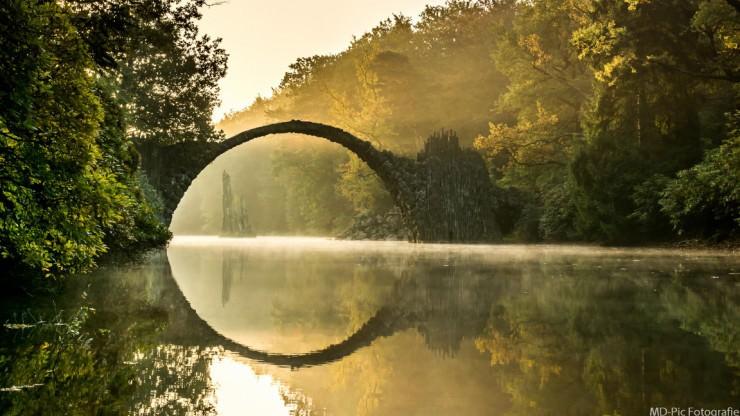 Rakotzbrücke-Photo by Photo by Marco D