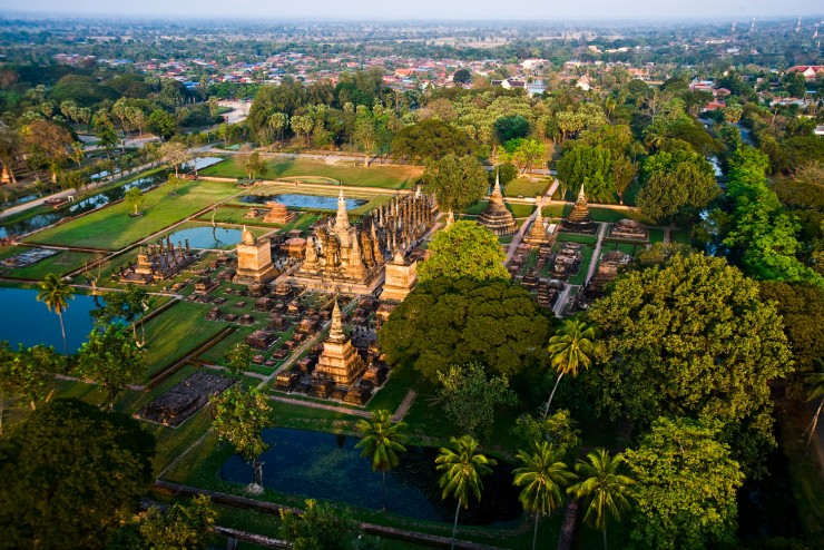 Sukhothai Photo from International Traveller Mag