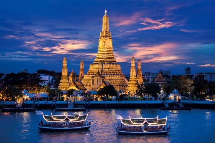 تور رودخانه Chao Phraya بانکوک