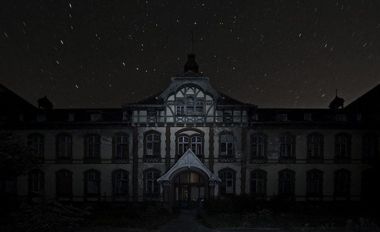 Beelitz Heilstätten in Brandenburg, Germany.