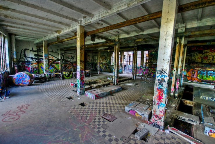 Eisfabrik - the abandoned ice factory in Berlin