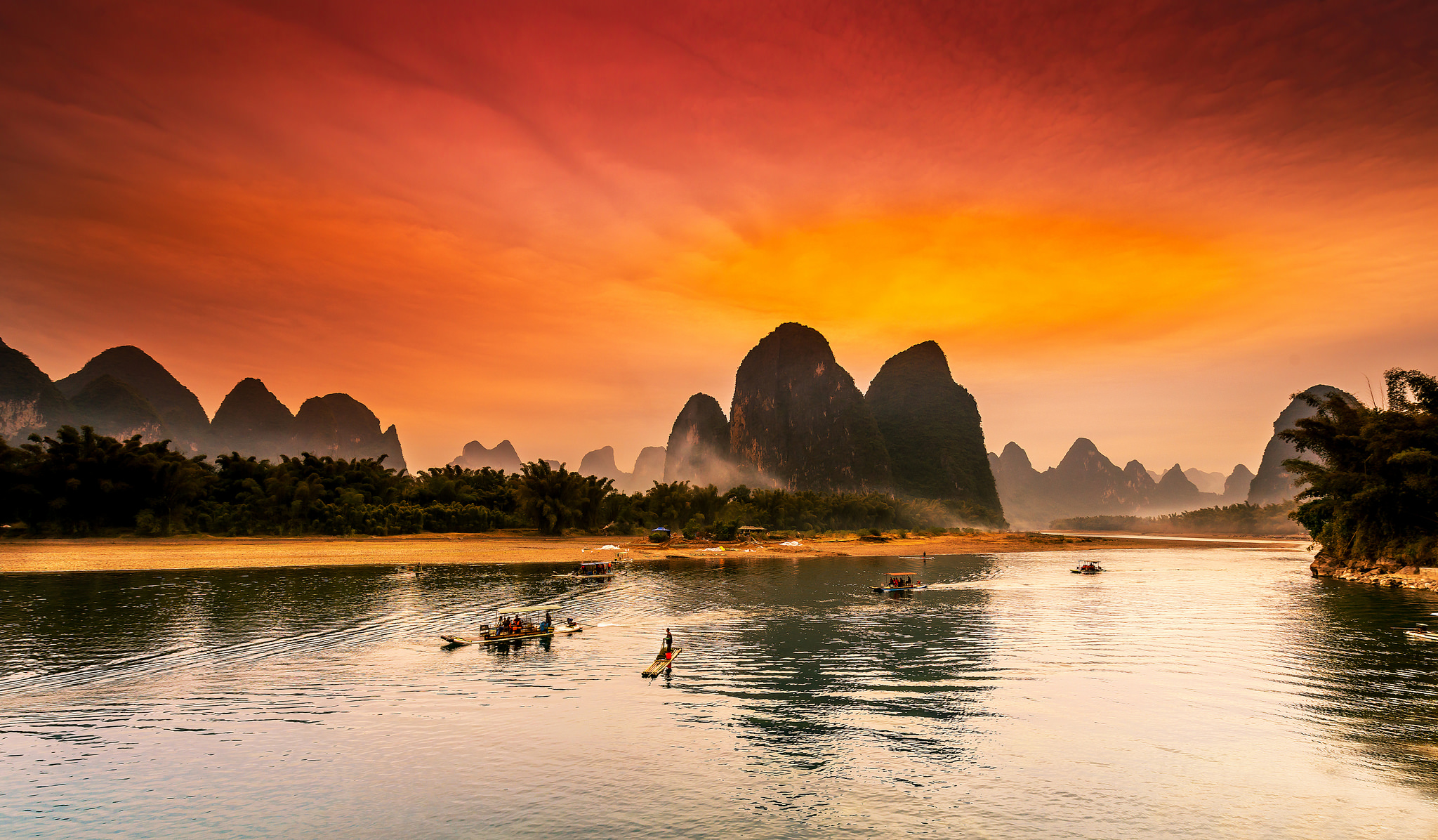 Top 10 Magical Landscapes With The Rivers Places To See In Your