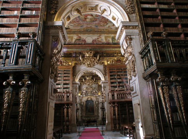 Coimbra Library, University of Coimbra–Alta and Sofia, Portugal