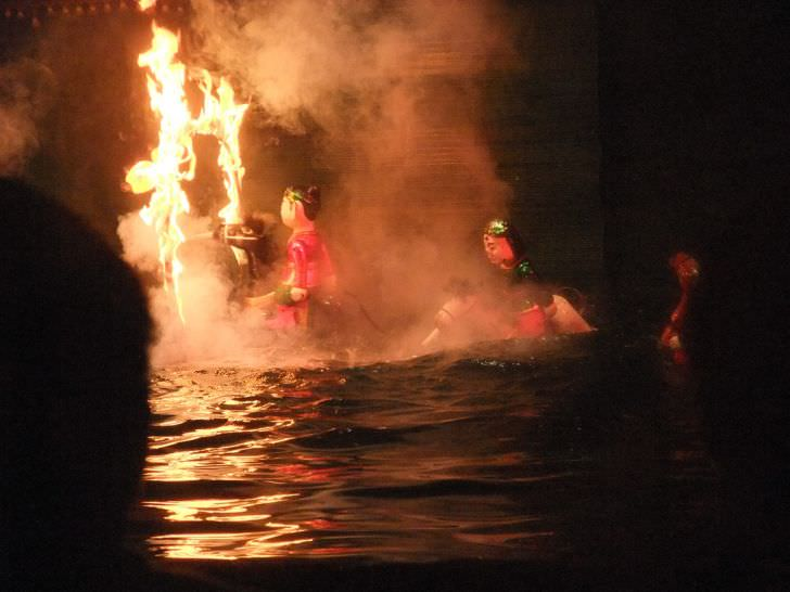 Thang long water puppet theatre