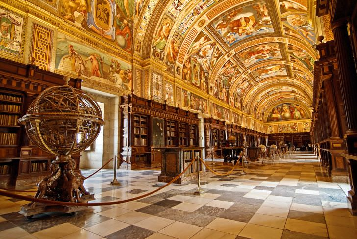 The Escorial Library, Spain