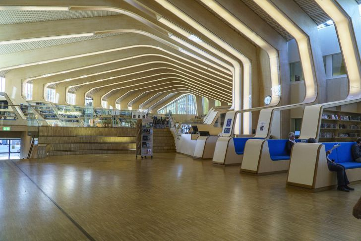 Vennesla Library, Norway