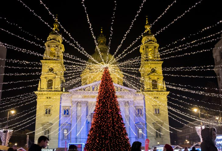 Christmas in Budapest, Hungary