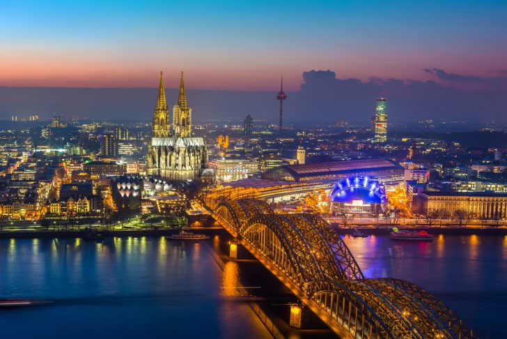Winter in Cologne, Germany