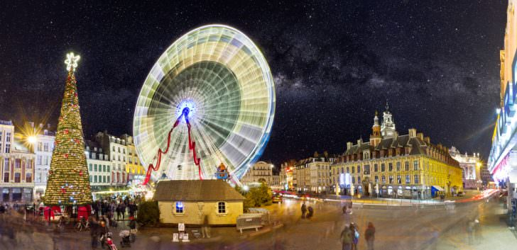 Christmas in Lille, France