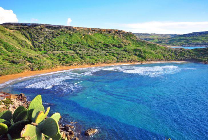 Mediterranean landscape Malta