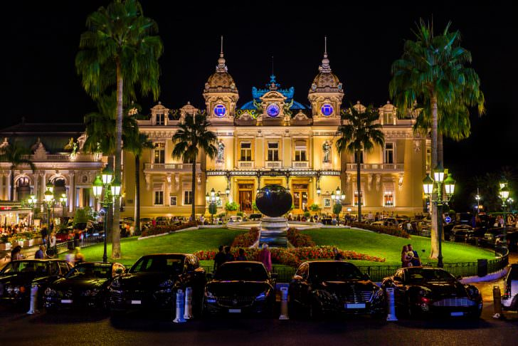 The Grand Casino in Monte Carlo, Monaco