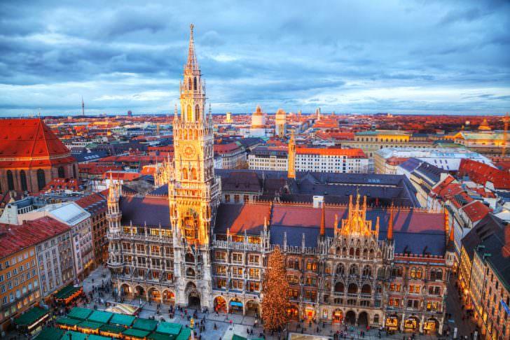 Munich Christmas Market, Germany