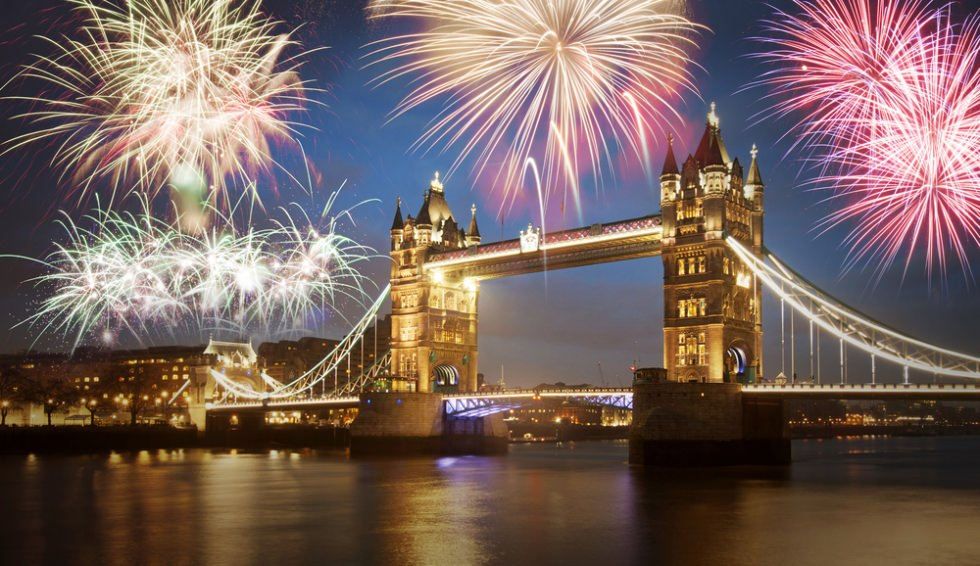 The Most Amazing Places to Ring in New Year's 2017