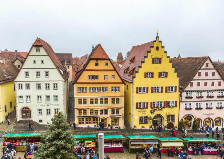 Rothenburg Christmas Market, Germany