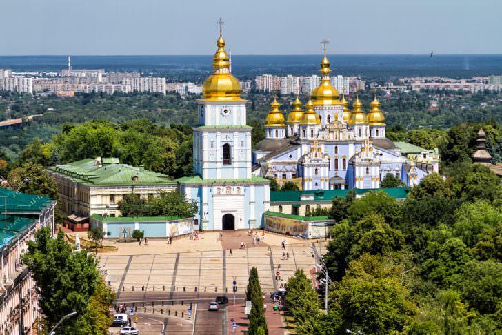 St Michaels Golden Domed Monastery in Ukraine, Kiev