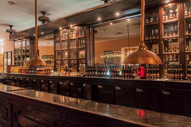 Havana Club bar in the Museo del Ron (Rum Museum) in Havana.