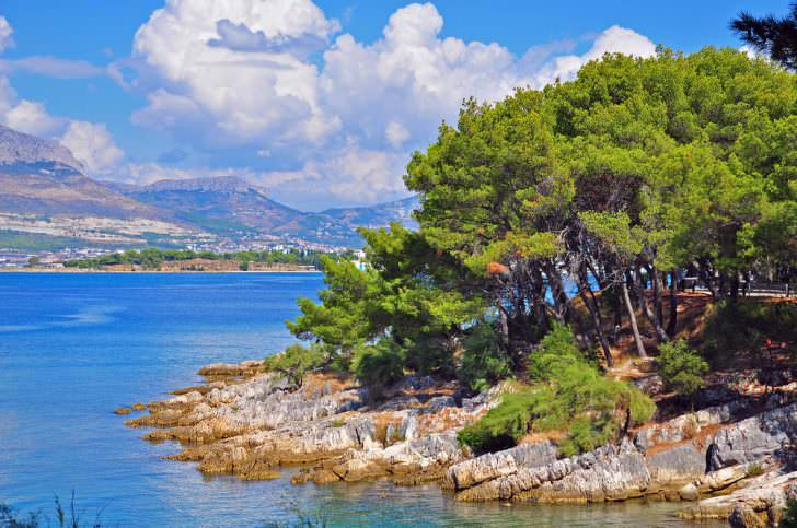 Marjan natural park, Split, Dalmatia, Croatia