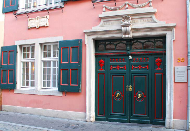 Beethoven House (Beethoven-Haus) in Bonn, Germany