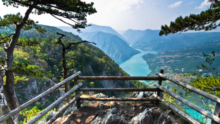 Canyon of Drina river, Serbia