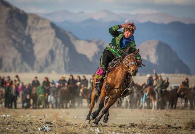 جشنواره در مغولستان