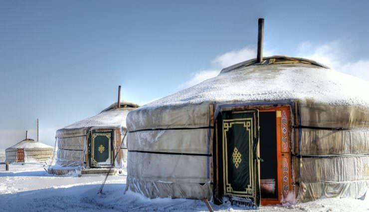 جاذبه مغولستان
