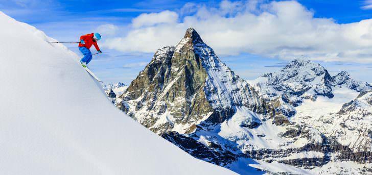 Zermatt Alps region Switzerland