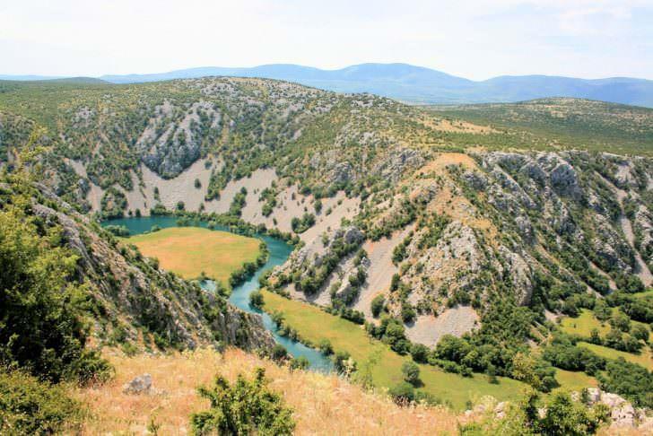 View on Krupa river, Croatia