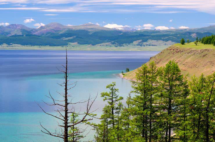 دریاچه Khovsgol، مغولستان