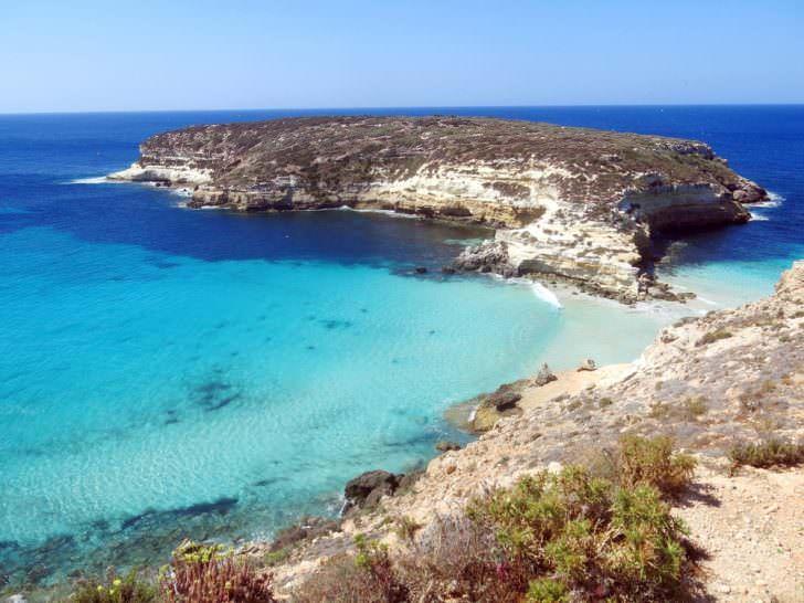 Lampedusa island, Mediterranean Sea, Italy