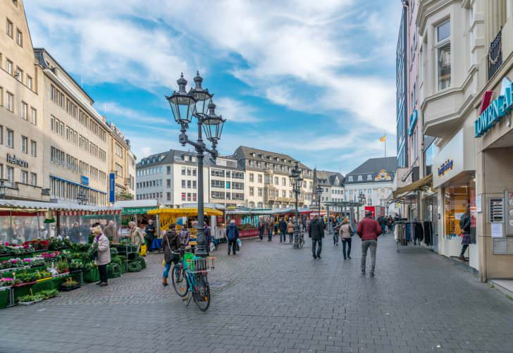 Market Square, Bonn, Germany