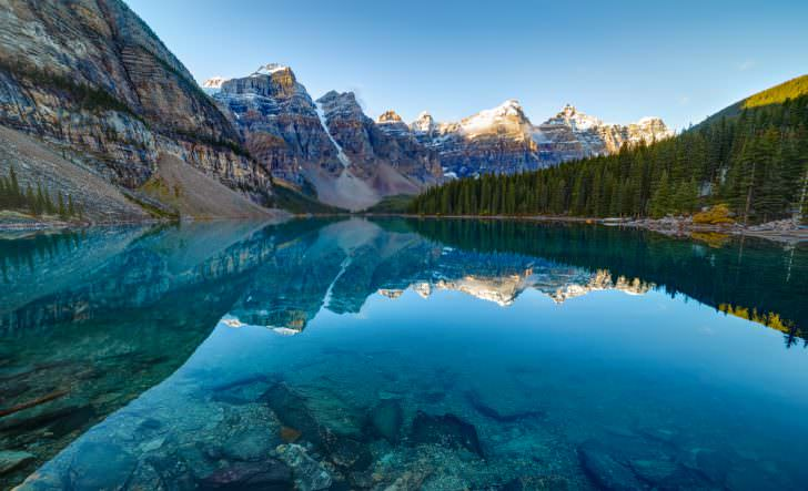 Moraine Lake in Banff National Park, Canada