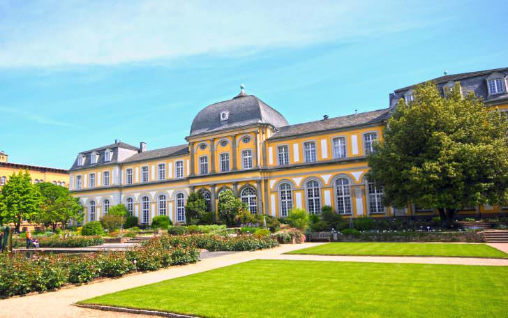 Poppelsdorf Palace in Bonn, Germany