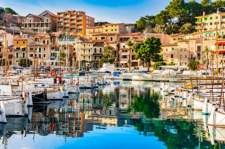 Beautiful view of Port de Soller