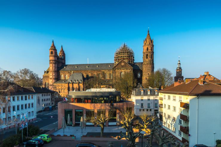 Cathedral of Worms, Germany