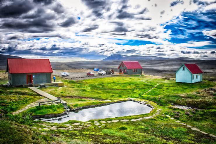 Laugafellslaug, Iceland